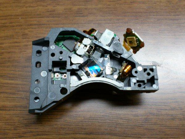 DVDのレーザー