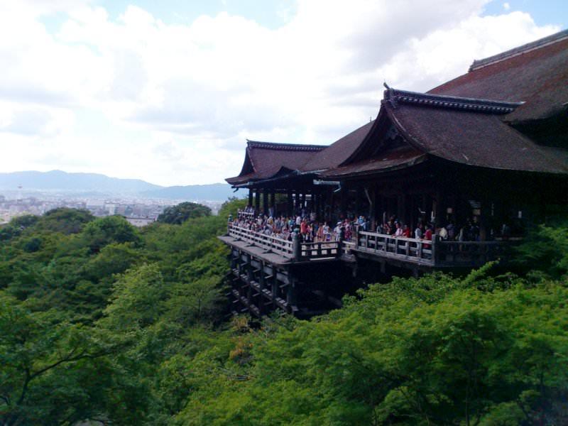 清水寺 本堂舞台