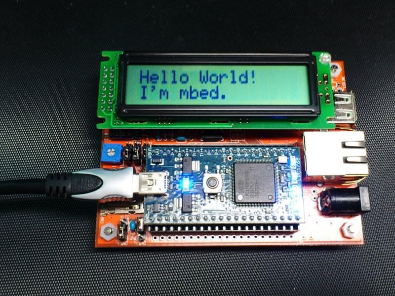Hello,I'm mbed!