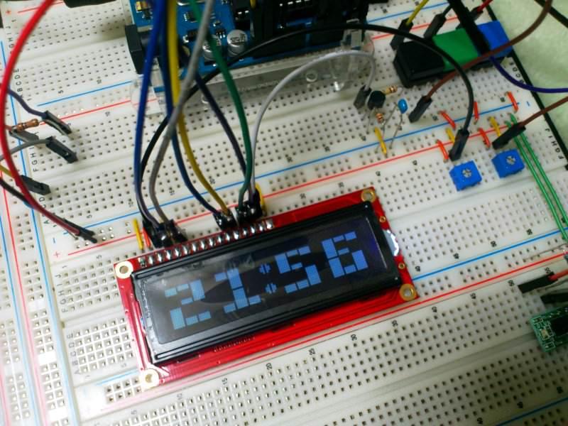 LCD時計
