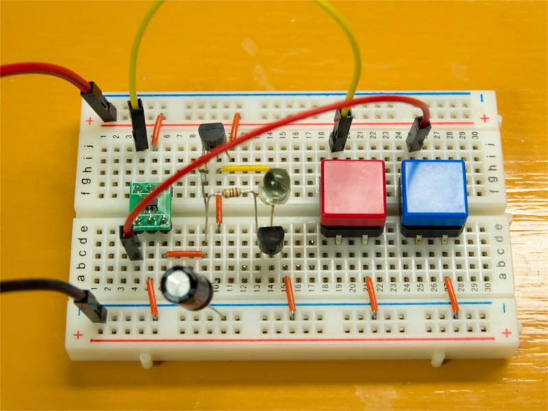 赤外線リモコン回路