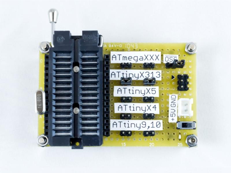 AVR汎用書き込み基板改