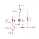 高出力リモコン回路