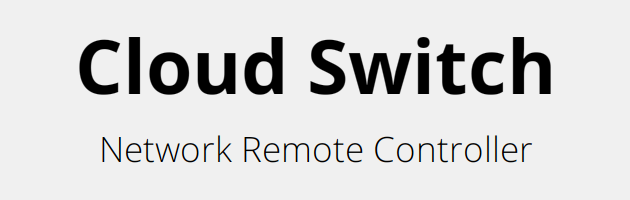 Cloud Switch