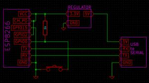esp8266書き込み回路