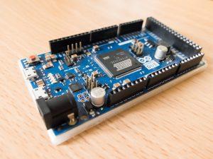 Arduino Due + バンパー