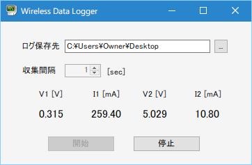 データログソフトウェア