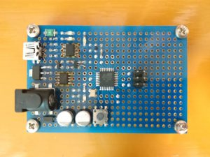 ATmega328PB 実験基板