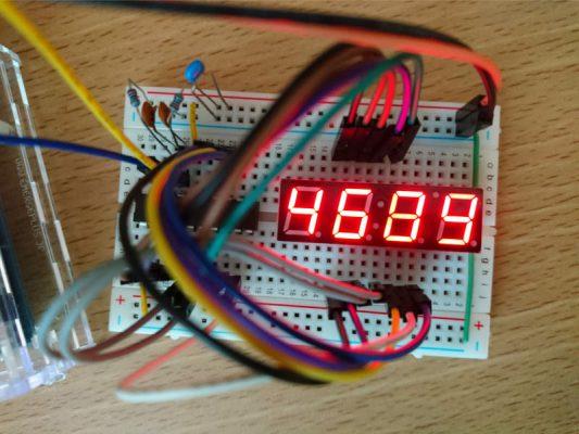 TM1637 LED制御テスト