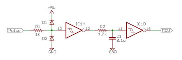 パルス波形整形回路
