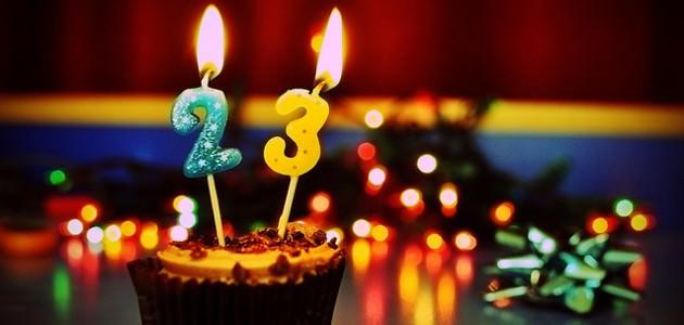 23歳の誕生日