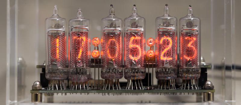 ニキシー管時計をプリント基板から製作