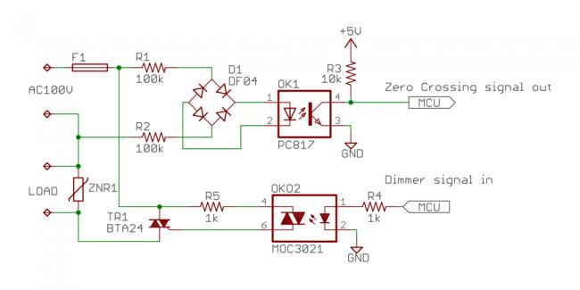 デジタル調光回路