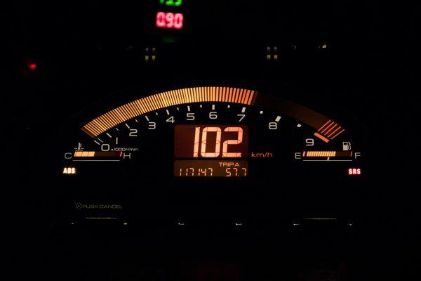 S2000メーター 暗所