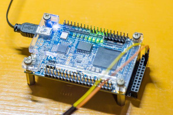 FPGArduino ブートローダ書き込み後