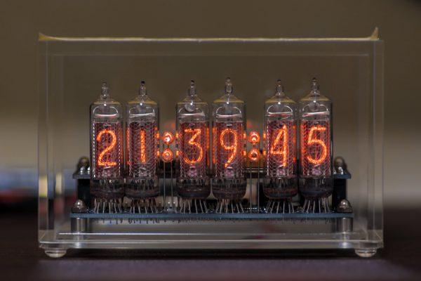 ニキシー管時計 v2