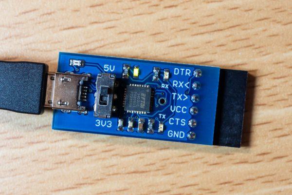 USBシリアル変換器