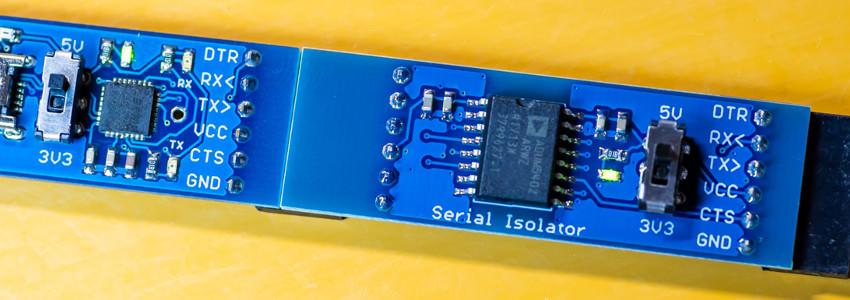 僕が考えた最強のUSBシリアル変換器とアイソレータ