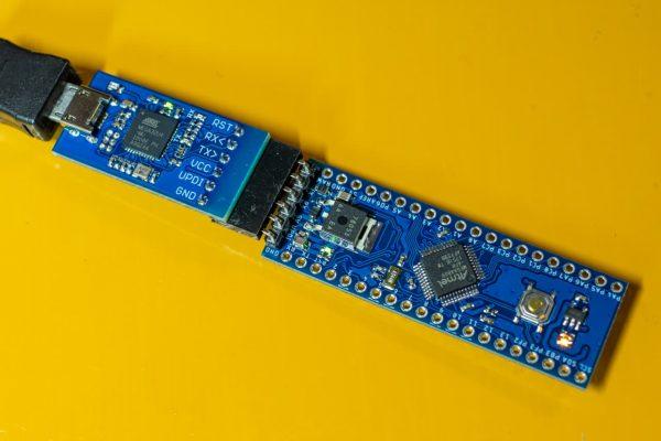 UPDI Programer + ATmega4809 Development Board