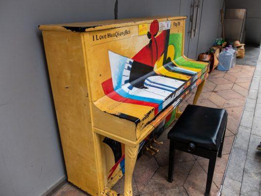 なぜかピアノ ちゃんと鳴る