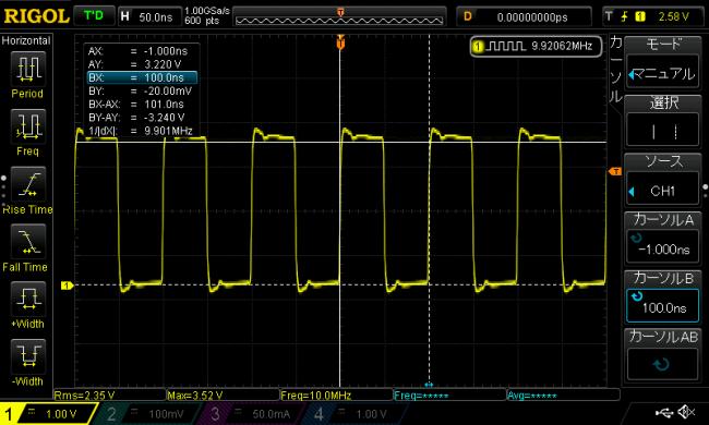 ESP32の高速GPIO速度